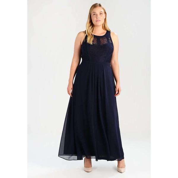 b5312a0332 City Chic DRESS MAXI PANELLED BODICE Suknia balowa french navy CIA21C005