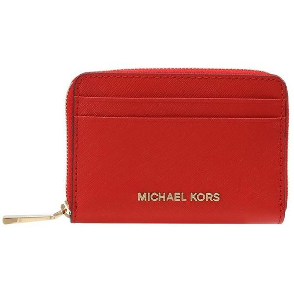 c956da04ca134 MICHAEL Michael Kors MONEY PIECES CARD CASE Portfel bright red MK151F04Q.  (C) zalando.pl. (C) zalando.pl