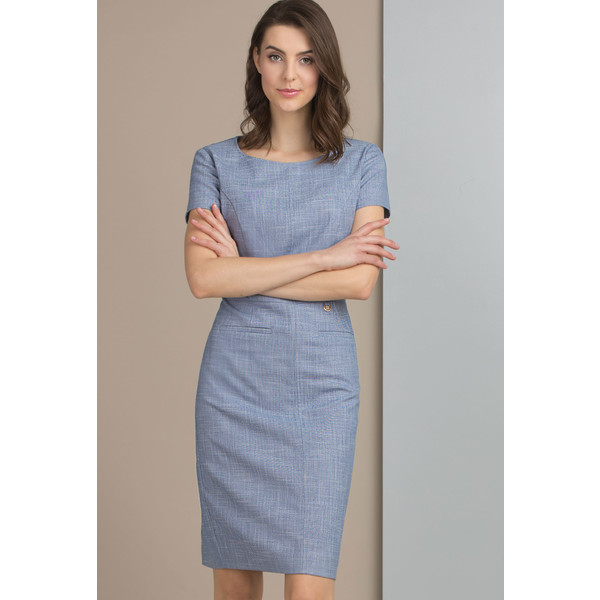 05a7340a8e593d Monnari Sukienka z subtelnym wzorem SUKIMP0-18W-DRE0220-K012D400-R36 ...