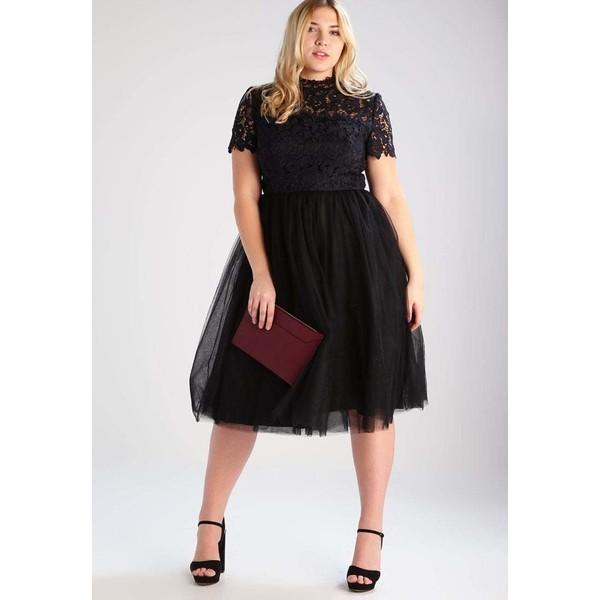 5b619c916bde Chi Chi London Curvy BRONTE Sukienka koktajlowa black CV721C010. (C) zalando.pl.  (C) zalando.pl