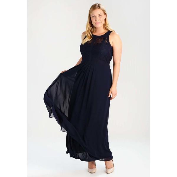 07cd1e1897 City Chic DRESS MAXI PANELLED BODICE Suknia balowa french navy CIA21C005.  (C) zalando.pl. (C) zalando.pl
