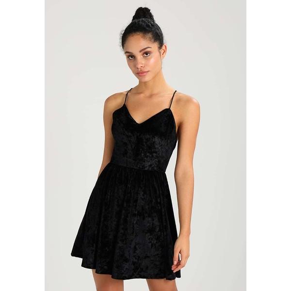 f764ed22718f OVS DREZIO Sukienka z dżerseju black OV021C00U - UbierzmySie.pl