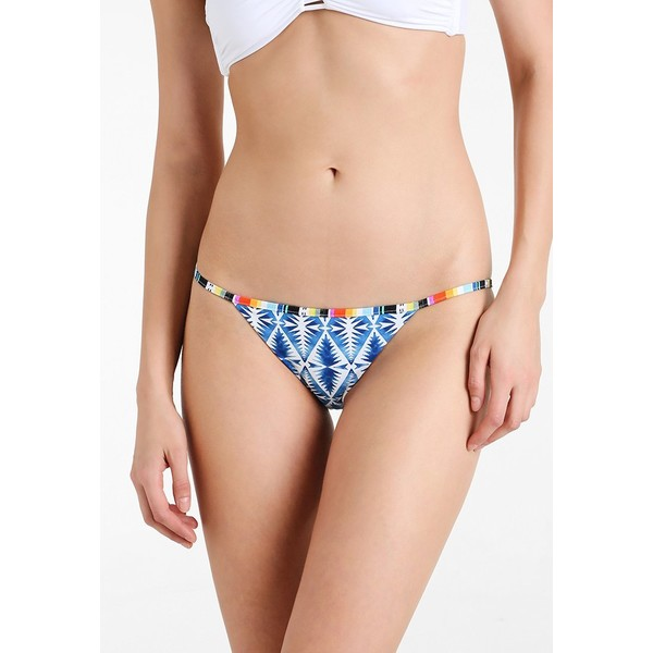 Rip Curl BEACH BAZAAR SKIMPY PANT Dół od bikini blue RI781I00Q
