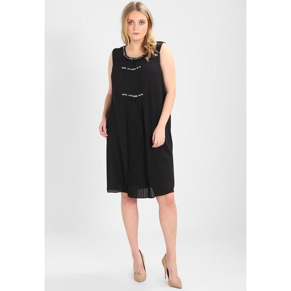 Persona by Marina Rinaldi EMBELLISHED PLISSE DRESS Sukienka letnia black  PQ021C01J. (C) zalando.pl. (C) zalando.pl 7df3687d61d