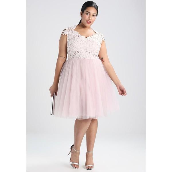 2e1a28782278 Chi Chi London Curvy MONIQUE Sukienka koktajlowa mink CV721C03O. (C) zalando.pl.  (C) zalando.pl
