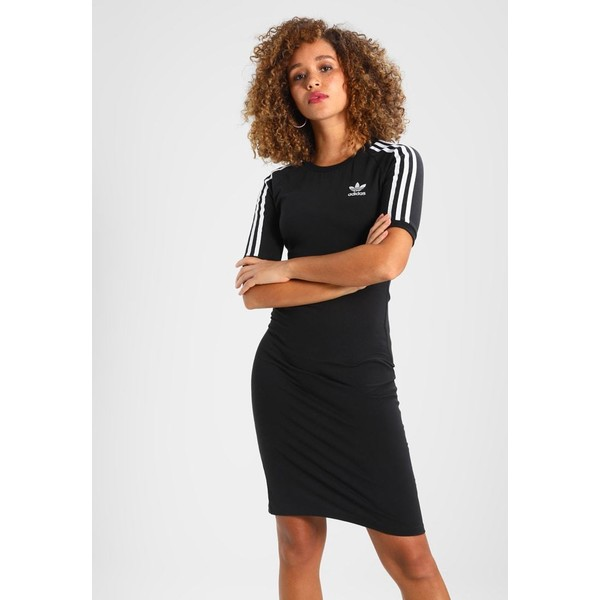b61052f375 adidas Originals 3 STRIPES DRESS Sukienka etui black AD121C039 ...