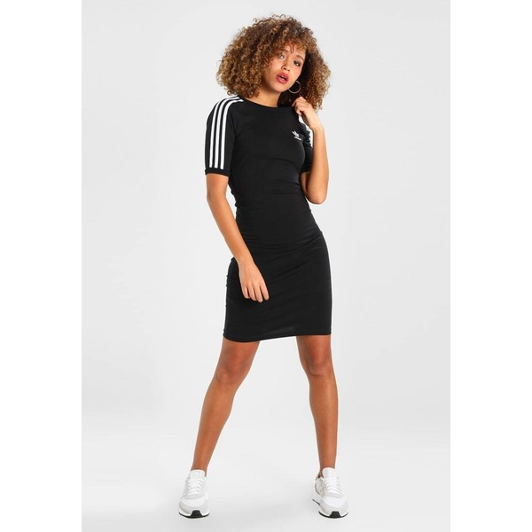 94fc0ef080ad adidas Originals 3 STRIPES DRESS Sukienka etui black AD121C039. (C)  zalando.pl. (C) zalando.pl