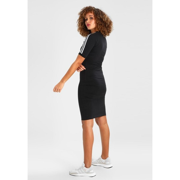 abe5c48adf63 adidas Originals 3 STRIPES DRESS Sukienka etui black AD121C039. adidas  Originals 3 STRIPES DRESS Sukienka etui black AD121C039