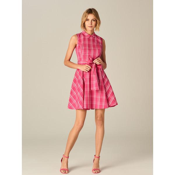3bf2b0f021 Mohito Sukienka w kratę z wiązaniem TD127-MLC ...