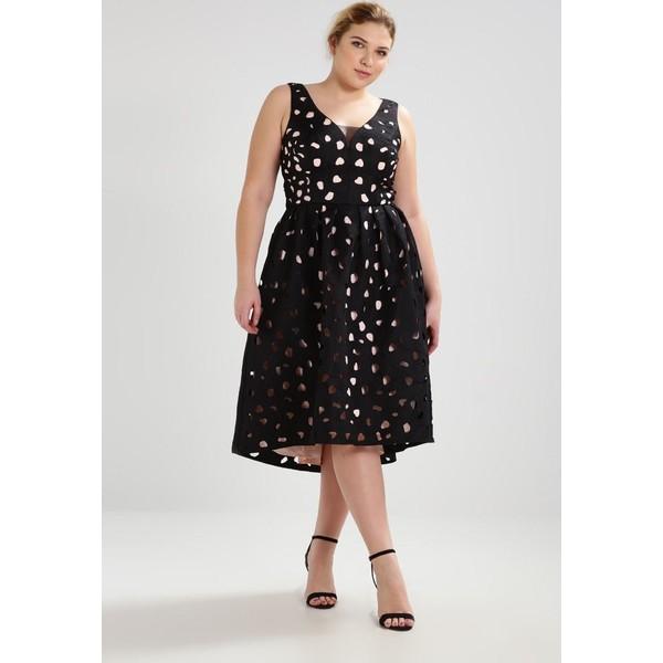 26eb33e4b9e7 Chi Chi London Curvy PAYTON Sukienka koktajlowa black CV721C02F. (C) zalando.pl.  (C) zalando.pl