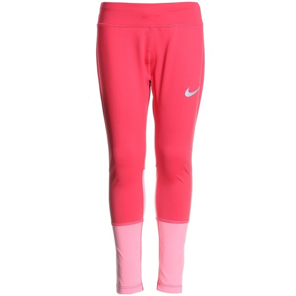 Nike Performance CROP Legginsy tropical pink/coral chalk/reflective silver N1243E0D2