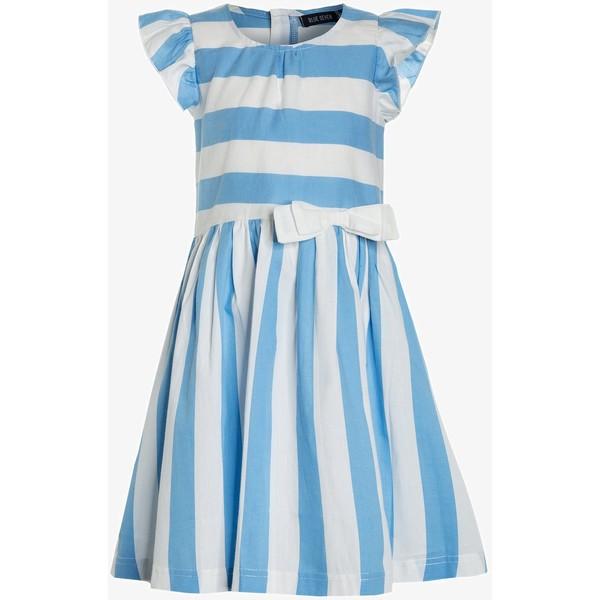 e9e15e0b21 Blue Seven Sukienka letnia mittelblau BL823F05E ...