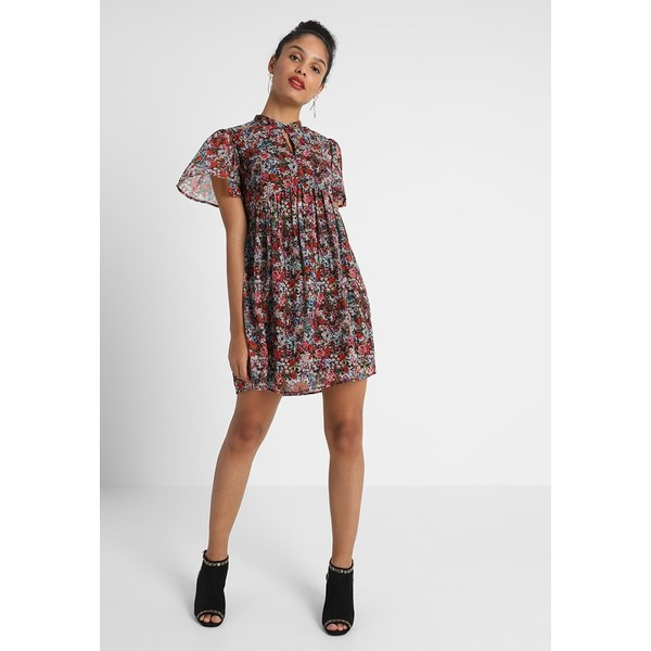 debd864c2d Vero Moda VMPOWER SHORT DRESS Sukienka letnia black VE121C1EY. (C) zalando.pl.  (C) zalando.pl