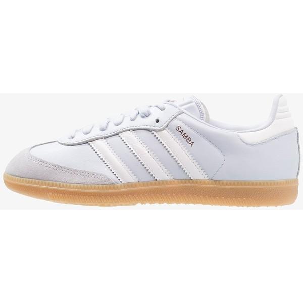 2a18f19cd03a adidas Originals SAMBA EXCLUSIVE Sneakersy niskie aero blue footwear white  AD111A0JF - UbierzmySie.pl