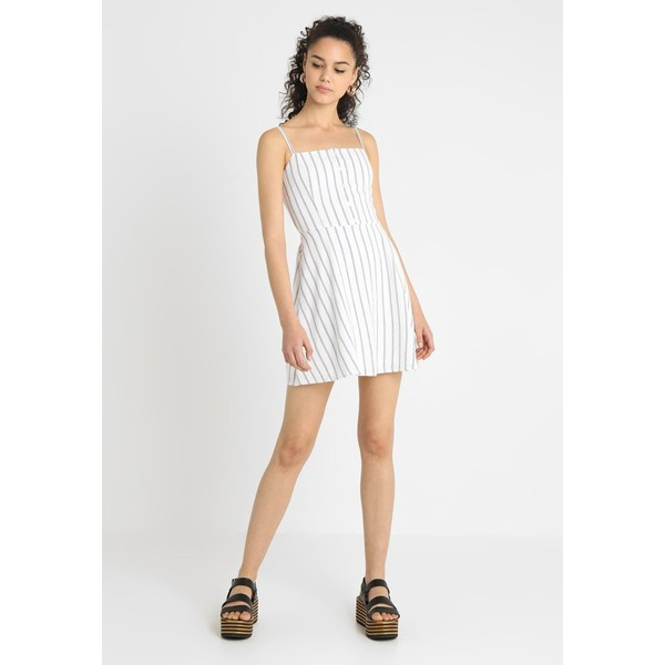10dd1397cd Hollister Co. BARE DRESS Sukienka letnia white H0421C00V. (C) zalando.pl.  (C) zalando.pl
