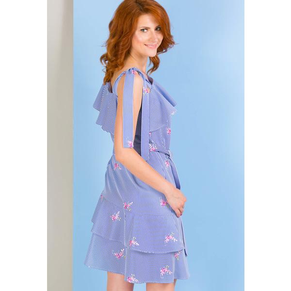 e49cac8a70 Monnari Prążkowana sukienka na lato SUKPOL0-18L-DRE3670-KM13D800-R36 -  UbierzmySie.pl