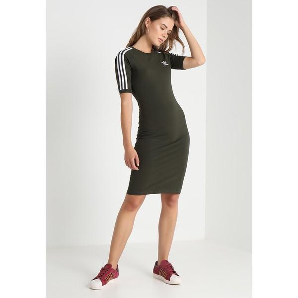 d96c56f9d5ed adidas Originals 3 STRIPES DRESS Sukienka etui night cargo AD121C039. (C)  zalando.pl. (C) zalando.pl