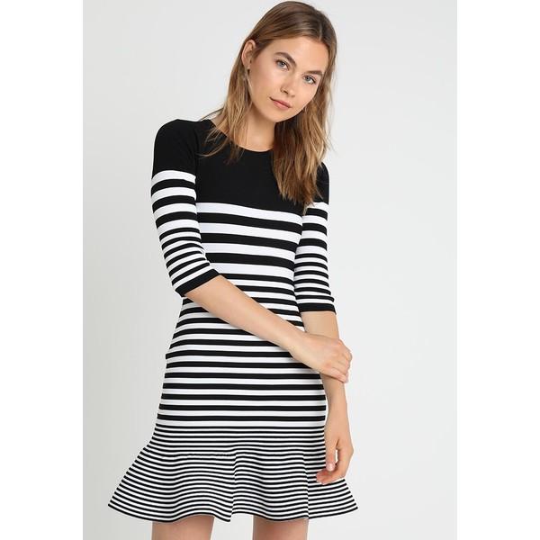 8d77be6d6604e Guess CARRIE DRESS Sukienka letnia black white GU121C0BP ...