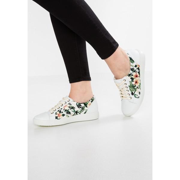 20ce85fe ecco SOFT LADIES Sneakersy niskie white EC111C044 - UbierzmySie.pl