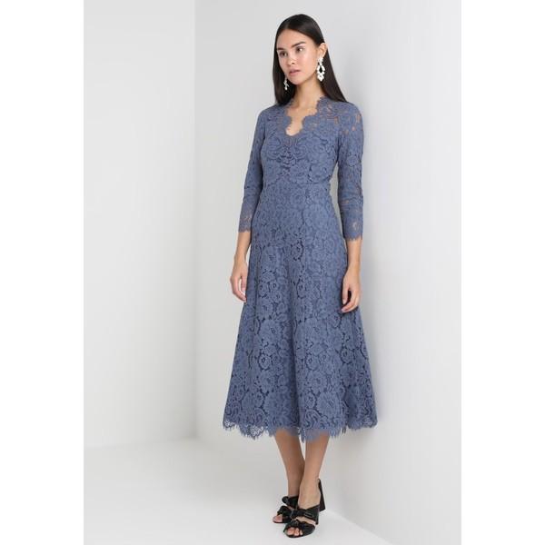 19f81c0770 IVY   OAK OPEN BACK FLARED Sukienka koktajlowa vintage blue IV321C02W -  UbierzmySie.pl