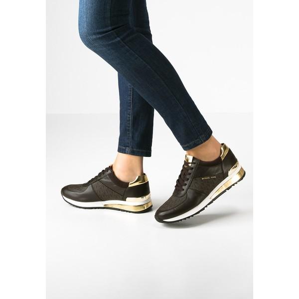 22688fc48ff03 MICHAEL Michael Kors ALLIE Sneakersy niskie brown MK111S01D ...