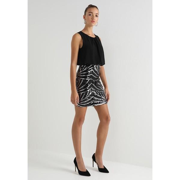 60a60553b8 Vero Moda VMELENORA DRESS Sukienka koktajlowa black VE121C1FA -  UbierzmySie.pl