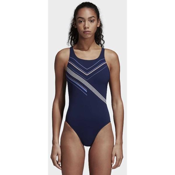 adidas Performance Kostium kąpielowy blue AD581G01P