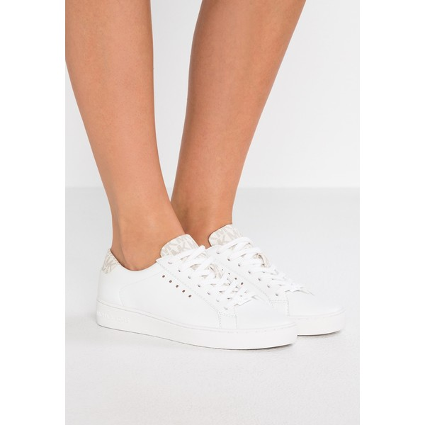 594f3951070f4 MICHAEL Michael Kors IRVING Sneakersy niskie optic white vanilla MK111S019