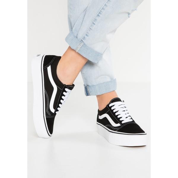 502f2a3eb4866 Vans OLD SKOOL PLATFORM Sneakersy niskie black/white VA211S03A ...