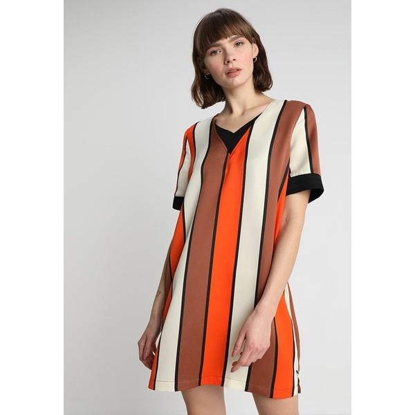b8914455d8 Scotch   Soda V NECK DRESS Sukienka letnia combo SC321C018 ...