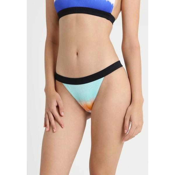 Topshop TIE DYE BRIEF Dół od bikini blue TP781I00U