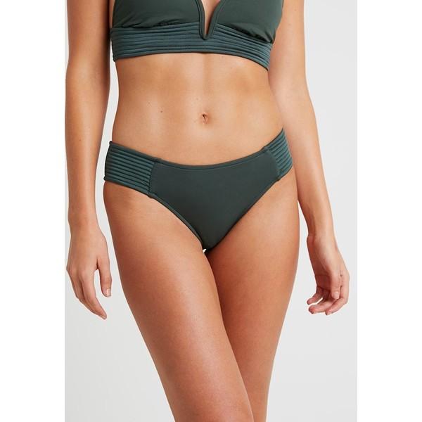 Seafolly QUILTED RETRO PANT Dół od bikini forest green S1981I02J
