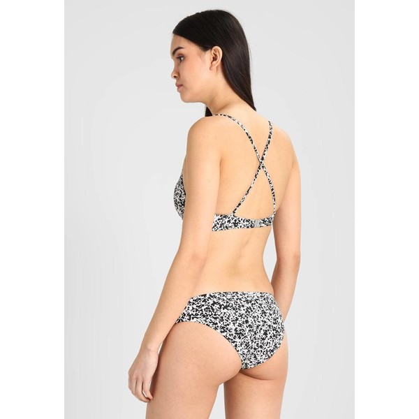 O'Neill HIP FIT BOTTOM Dół od bikini black/white ON581I00G