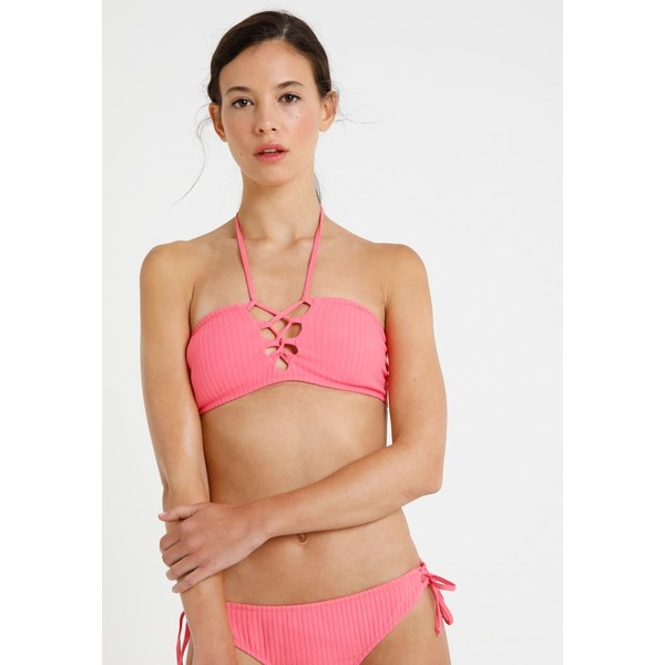 LASCANA CAPSULE BANDEAU Góra od bikini lobster L8381J00S